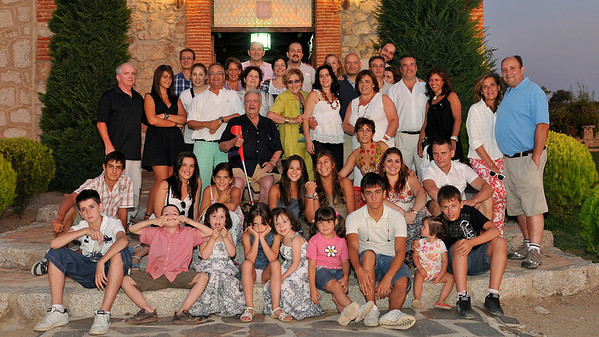 Spain and family