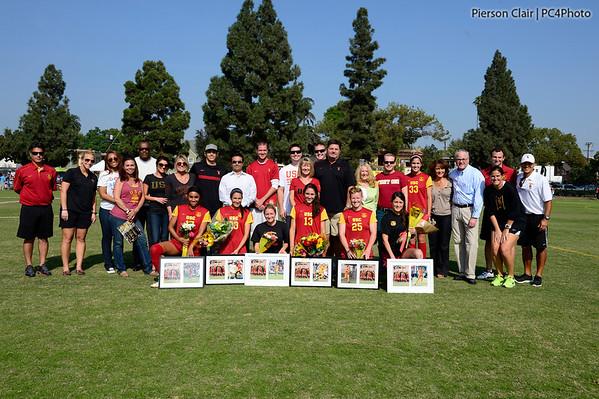 USC Women's Soccer v UCLA 2012
