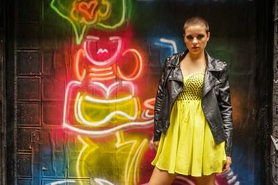 Models: Laura Hartley, HMUA: Anastasia Kouzoukas