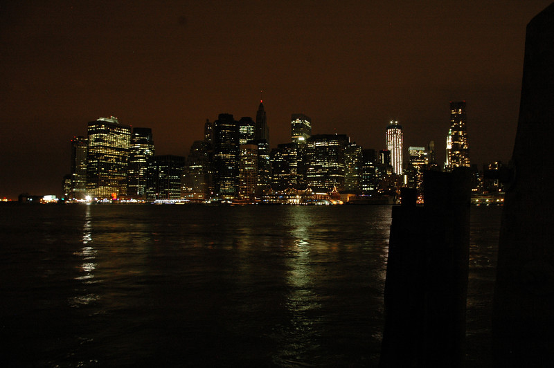 NYC from the Brooklyn Bridge park