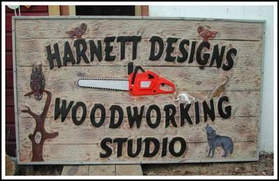 Harnett Designs Signs