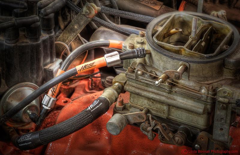 Hose Candy 1962 Corvette PCV, vacuum advance, vent,