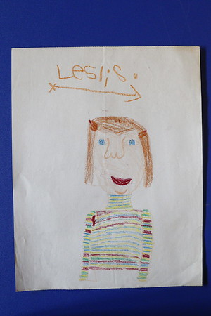 summers family childhood self-portraits and family drawings