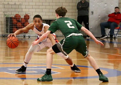 HS Sports - 20 Boys Basketball District Semis @ Lincoln Park