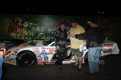 "ASA Midwest Tour ""Port City Racecars 100"" Victory Lane"