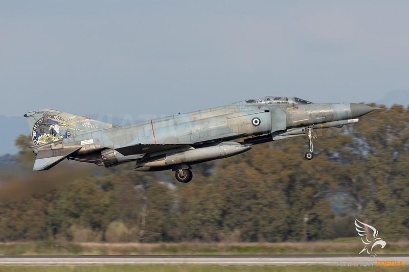 "Greece - Air Force | McDonnell Douglas F-4E Phantom II | 01505 | ""40 years Phantom"" special scheme"