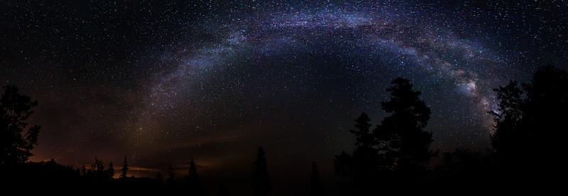Milky Way over Campobello Island