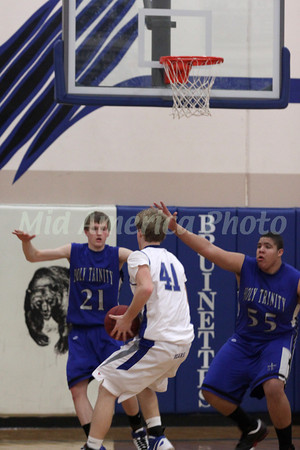 Boys Basketball, Holy Trinity vs Danville 1/20/2012