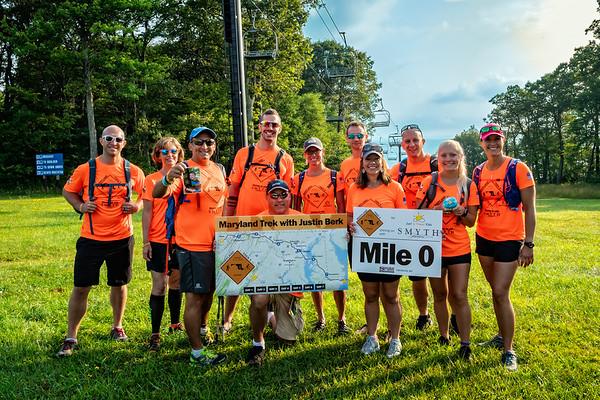 Maryland Trek 5 with Justin Berk Day 1 (08/05/2018)