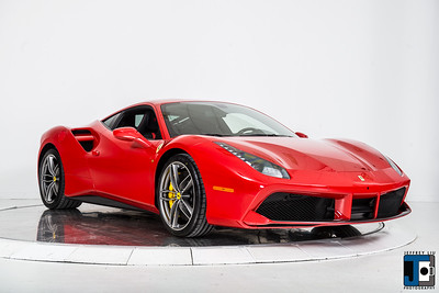 Rosso Met Ferrari 488 GTB