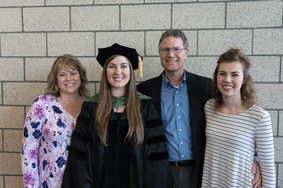Hannah's PT Graduation May 2019