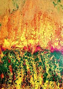 """Raging Spring"" (acrylic) by Anna Adams"