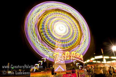 Tulare County Fair Amusement Rides 2010