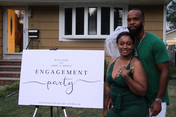 AUGUST 4TH, 2019: SADOT & RESEY'S ENGAGEMENT PARTY