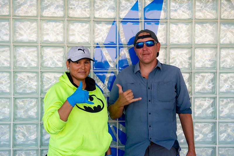 Sonya Herrera (left) and Brady Hilton