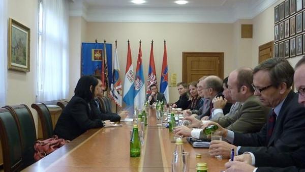 EFTA Parliamentarians visit Albania and Serbia (2010-11-25)