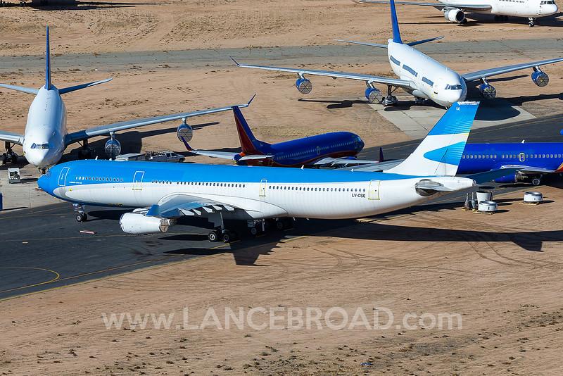Aerolineas Argentinas A340-300 - LV-CSE - VCV