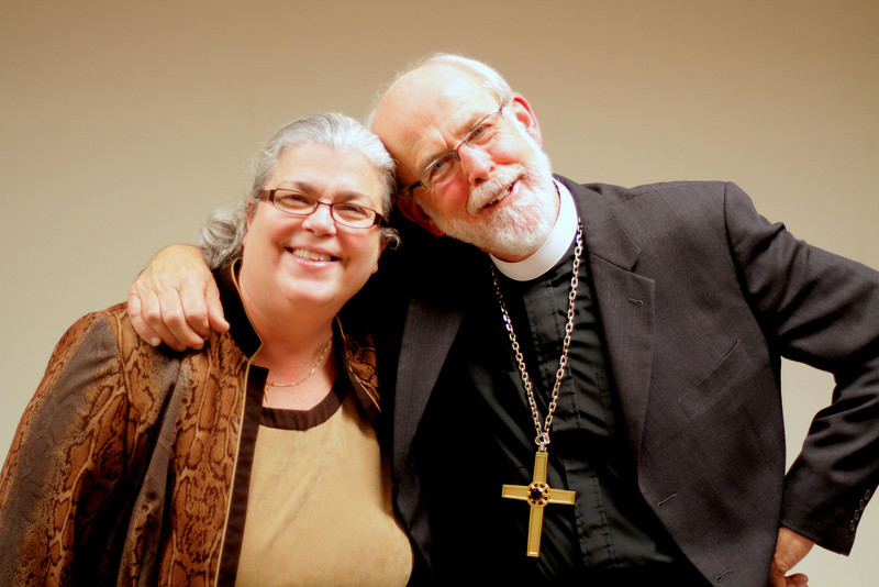 "Jan Rizzo, Associate Director for Interpretation and Editor: ""Seeds for the Parish,"" with ELCA Presiding Bishop Mark S. Hanson.  November 21, 2010 Online Town Hall Forum."