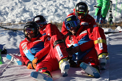 Dec 12, 2016 - Arosa Audi Ski Cross World Cup Cross Alps Tour training