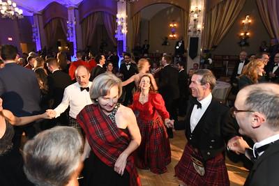 Scottish country dancing