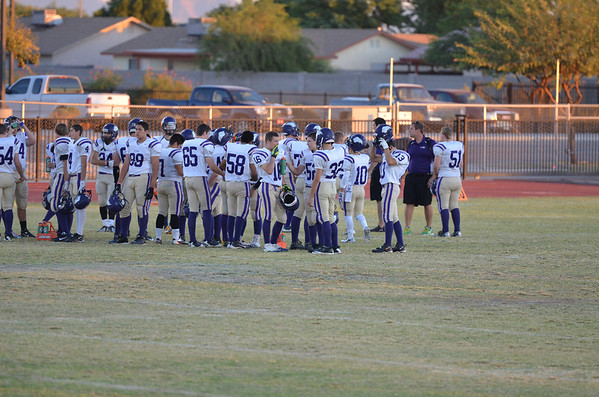 Knights JV vs Gila Ridge 10-31-2013