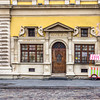 Outside the Post Museum, Lviv, Ukraine