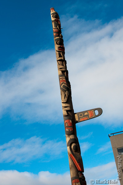 Totem pole, Pike Place Market