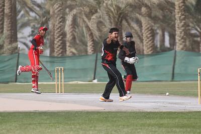 Warm-up: Hong Kong XI v Oman XI, 10 March 2012