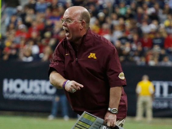 """. <p>2. JERRY KILL <p>Gophers coach has carefully determined that his seizure issues are none of your beeswax. (unranked) <p><b><a href=\'http://www.twincities.com/sports/ci_24105707/gophers-football-norwood-teague-backs-jerry-kill-100\' target=\""""_blank\""""> HUH?</a></b> <p>     (Scott Halleran/Getty Images)"""