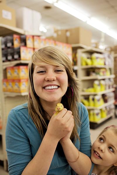 Feldmans for ducks and chicks.
