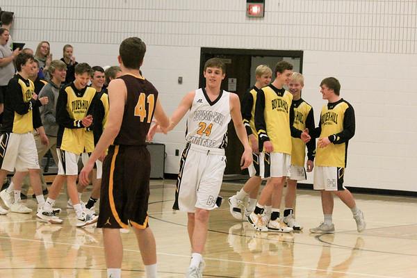BH boys' basketball versus H-M-S 1-31-19