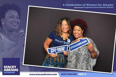 2018.09.22 Women 4 Abrams #GAGov Stacey Abrams