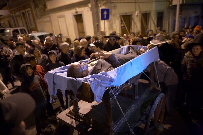 Enterro do Bacalhau - Bairro Santos Nicolau - 2018