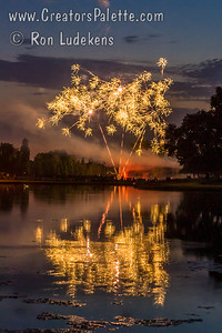 3rd of July Fireworks 2013 - Visalia Country Club