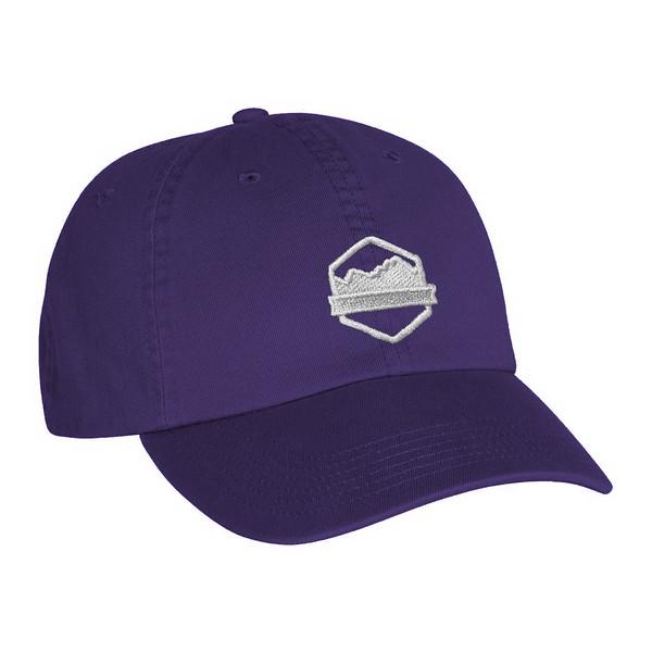 Organ Mountain Outfitters - Outdoor Apparel - Hat - Logo Dad Cap - Purple.jpg