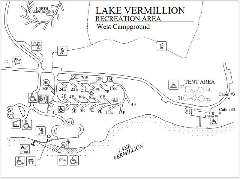 Lake Vermillion Recreation Area (West Campground)