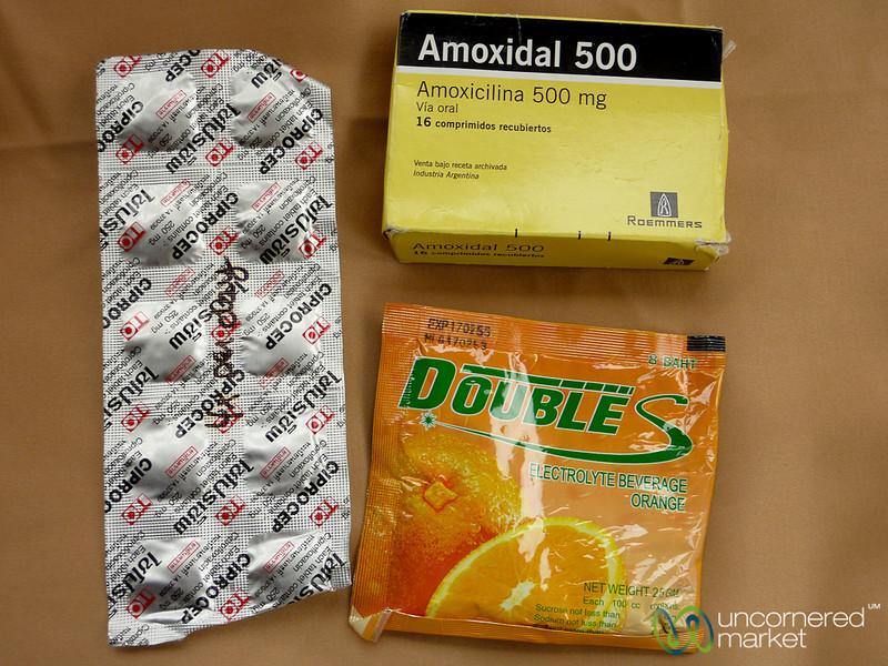 Antibiotics and Rehydration Drink
