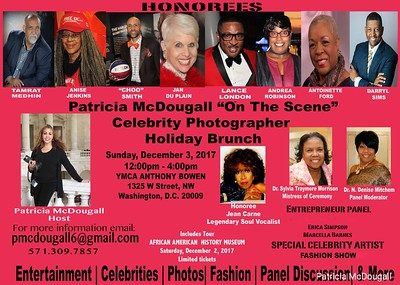"""Patricia McDougall """"On The Scene"""" Celebrity Photographer Holiday Brunch"""