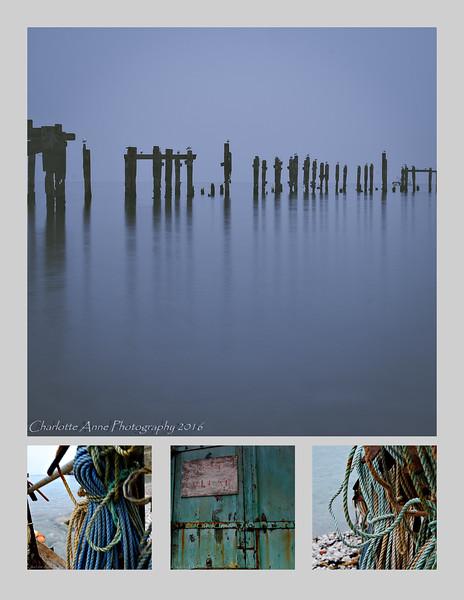 Peaceful coastal scenes