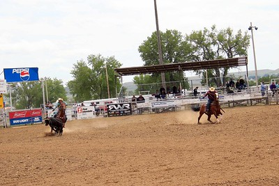 Sat. Slack Junior Team Roping