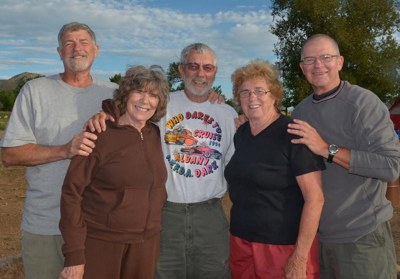 Dan, Edna, Roger, Sharon, and Don