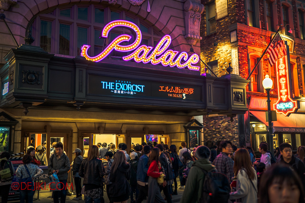 Universal Studios Japan - Halloween Horror Nights / Palace Theater horror mazes