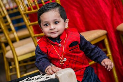 Suchveer Rai 1st Birthday