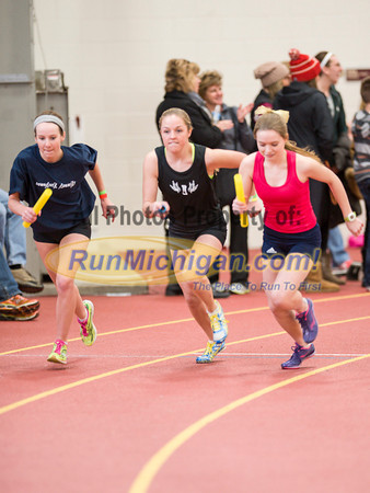 Girls' 4x800 Relay - 2014 MITS State Meet