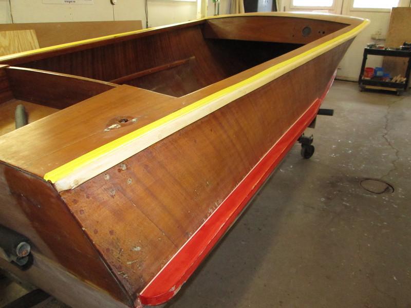 Starboard fillet installed.