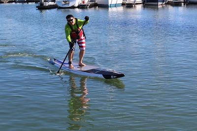 Redwood City Paddle Race Jan 20 2018