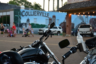 Collierville Bike Night 7-20-17