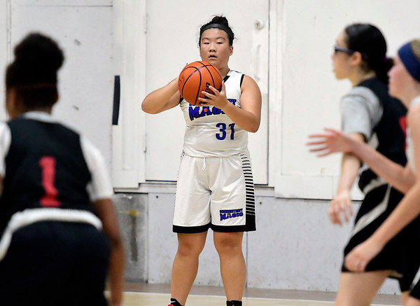 8/1/2018 Mike Orazzi | Staff Bristol Warriors' Jenny Yang (31) during Nutmeg State Games girls basketball at the Basketball House in Plainville Wednesday evening.