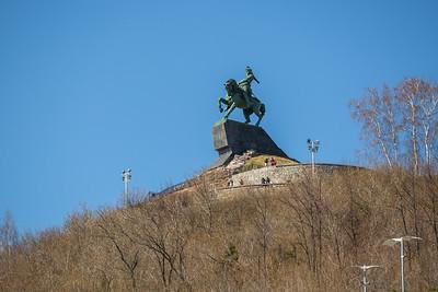 18.04.19 Уфа. Памятник Салавату Юлаеву (Владимир Васильев)