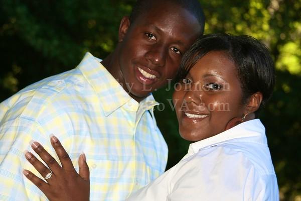 Dayna + Cornelius: Newport News Engagement Photography